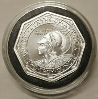 2oz Panama Canal Pacific Exposition Octagonal San Francisco Tribute Silver Round
