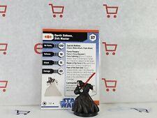 A Star Wars Miniatures Darth Sidious Sith Master & Card