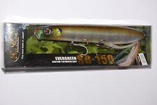 "evergreen sb-150  topwater pencil bait spook 5 7/8"" 1 9/16oz natural gill"