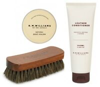 RM Williams 100ml Conditioner, Polish and Brush Deal - EXPRESS POST INCLUDED