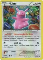Ditto HOLO RARE Pokemon XY40 PIKACHU COPY Black Star Promo TCG Foil Card - LP