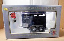 Horse Trailer Die-Cast Motor City Classics - Dark Blue - # 92006 - N.I.B.