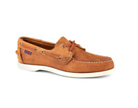 Sebago Docksides Portland Crazy Horse Men's Moccasin 70015H0/912 Brown Tan NEW