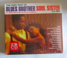 BLUES BROTHER - SOUL SISTER -  3  CD NUOVO E SIGILLATO -
