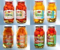Tomaten Gelb Rot Paprika Assorti eingelegt versch Sorten/Arten Огурцы Помидоры
