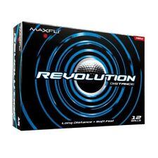 Maxfli Revolution Distance 12 Golf Balls New In Package