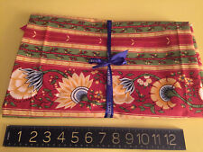 """PIERRE DEUX French Country Fabric """"BORDURE JOUY"""" Collection 60"""" x 55"""" w/o ribbon"""