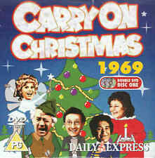 CARRY ON CHRISTMAS 1969 - Sid James, Barbara Windsor etc --- DVD ---