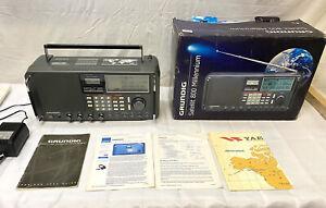 Grundig Satellit 800 Millennium Shortwave AM FM Radio Receiver - Works + Box ++