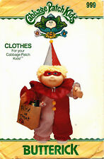 Butterick 999 Cabbage Patch Clown Costume Sewing Pattern