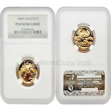 USA 1999W Eagle $25 1/2 oz Gold Coin NGC PF69 ULTRA CAMEO