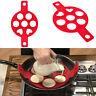 Pancake Maker Silikonform Ei Backen Flippin Nonstick Pfannkuchen Kuchenform Rot
