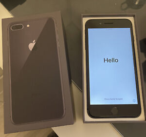apple iphone 8 plus 256gb unlocked Space Gray Used In Great Condition