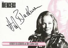 The Women of Avengers Auto Card WAHB Honor Blackman as Mrs Cathy Gale