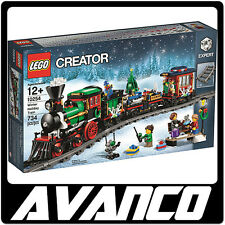 LEGO Creator Winter Holiday Train 10254 Christmas Santa BRAND NEW SEALED RETIRED
