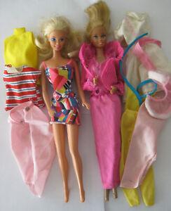 Mattel Barbie Superstar era 80/90's: Golden Dream (1980)  & Tahiti (1992)