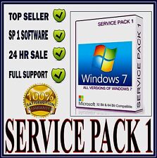 Microsoft Windows 7 Service Pack 1 32 + 64 Bit Compatible