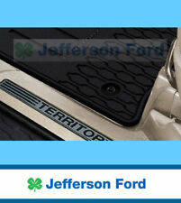 GENUINE FORD TERRITORY SZ RUBBER RUBBER FLOOR MATS WATER PROOF FULL SET OF 4