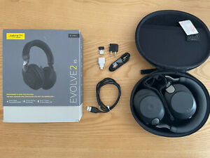 Jabra Evolve2 85 Wireless Headset – Noise Cancelling UC Certified Stereo Boxed