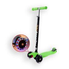 3 Wheel Kids Children Maxi Scooter Push Tilt Lean T-bar Drifter  Adjustable Gree