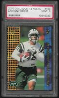 2000 Collector's Edge T-3 Retail Anthony Becht #199 RC PSA 9 MINT Rookie Card