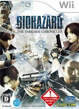 Resident Evil: The Darkside Chronicles - Nintendo Wii -2010- [Japanese Wii Only]