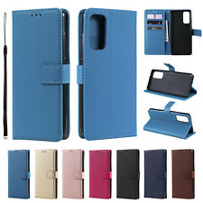 Case For Samsung S20 FE S20 S10 S9 S8 S7 Plus Leather Flip Card Slot Stand Cover