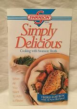 Swanson Broth Simply Delicious Recipe Book 24 Pages Pamphlet 16 Recipes