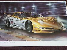 CHEVROLET CORVETTE C5R GOODWRENCH RACING 24 HOURS OF LEMANS 1999 2000 LEE BIVENS