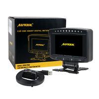 AUTOOL Car Computer Overspeed Alarm Engine Status Monitor OBDII Hud Speedometer