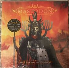 MASTODON EMPEROR OF SAND VINYL DOUBLE LP WITH COLOUR IN COVER & PENCILS SEALED