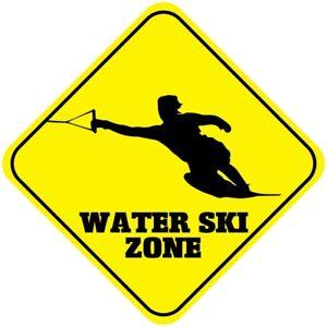 Aluminum Crossing Sign Water Ski Zone Cross Xing Style A Diamond Street Signal