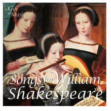 New & Sealed Songs for William Shakespeare. Free Postage