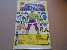 OFFICIAL HANDBOOK OF THE MARVEL UNIVERSE #8 Master Edition SEALED