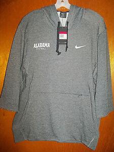 NWT Nike Alabama Crimson Tide Football Player Training Gym Hoodie Sweatshirt
