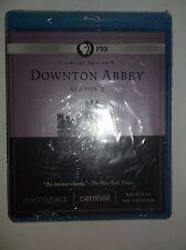 Downton Abbey: Season 2 (Blu-ray Disc, 2012, 3-Disc Set) Limited Ed. BRAND NEW