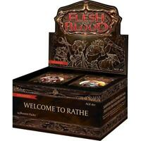 Flesh and Blood: Welcome to Rathe Unlimited Booster Box [24 Packs Box] NEW