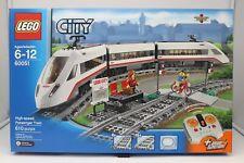 Lego City 60051 High-speed Passenger Train 2014 FACTORY SEALED