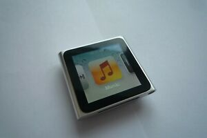 Apple iPod nano 6th Generation Silver (16GB) Full Working Order 1300