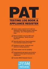 Syam PAT/LB100 Portable Appliance Testing Log Book and Appliance Register Record