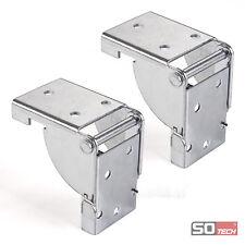2x Klappkonsole Klappbeschlag Tischplattenbeschlag Klappträger Stahl verzinkt