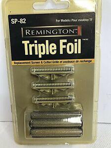 OEM Remington SP-82 Triple Foil Shaver Screen+Cutter Head TF-100/200/300/400 NOS