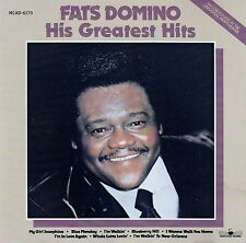 FATS DOMINO : HIS GREATEST HITS / CD (MCA RECORDS MCAD-6170)