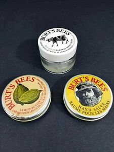 Burt's Bees Almond milk Beeswax hand cream lemon butter cuticle hand care salve