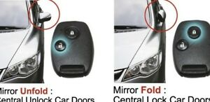 For Toyota Hilux SR5 MK6 MK7 Fortuner SUV Automatic Folding Mirror_