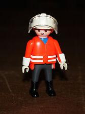 Playmobil pompiers homme pompier en tenue 3881