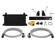Mishimoto Thermostatic Oil Cooler Kit - Black - fits Nissan 370Z VQ37VHR