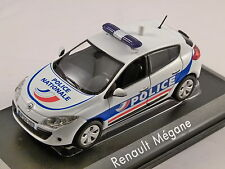 2010 RENAULT MEGANE Police Nationale - 1/43 scale model NOREV