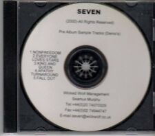 (BK411) Seven, Pre-album sampler - 2000 DJ CD