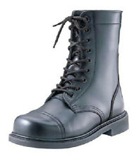 COMBAT BOOTS STEEL TOE  9 inch MILITARY STYLE ARMY 5-13 Reg & Wide
